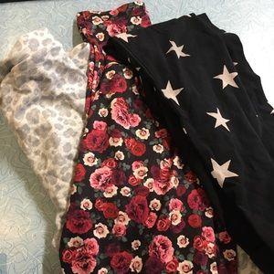 Set of 3 girls leggings